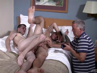 Closeted Jocks Perform For Father