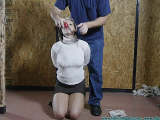 Courtney Begs for Bondage Gags and Punishment - Extreme, Bondage, Caning