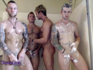 Voyeurboys Shower pt3