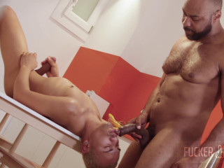Ray Diesel and Donny - Black On Twink