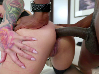 Perfect Katrina Jade Hard Assfucked By Black Monster Cock