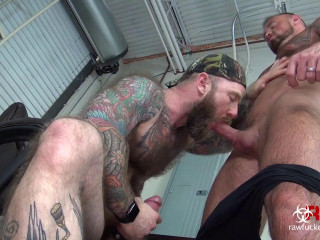 Taking Jack Dixon's Fat Daddy Dick - Michael Roman and Jack