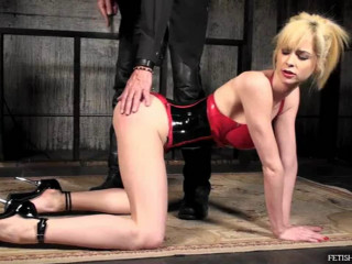 Bondage, spanking, torture and strappado for hot slut part 1