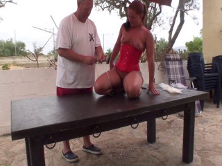 Strictly ZipTied On Table in Spain