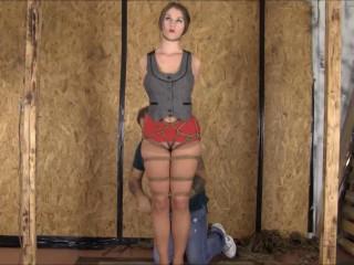 Brendasbound - Terra Mizu Suffers Through Her First BrendasBound Hogtie