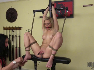 Dungeon Corp - Tiffany Watson - Blonde, Bound and Blaised