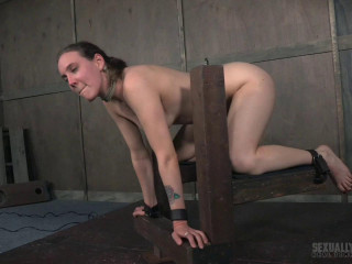 Adorable dame next door, endures fierce gargling and tough fucking, extraordinary bondage and sex!