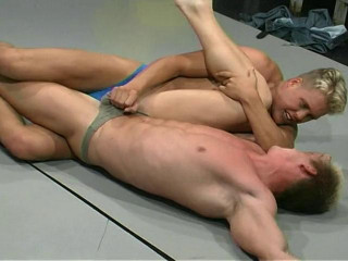Mopped Up - Gay Wrestling