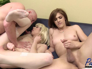 Lily Demure & Bailey Enjoy Get Porked Together
