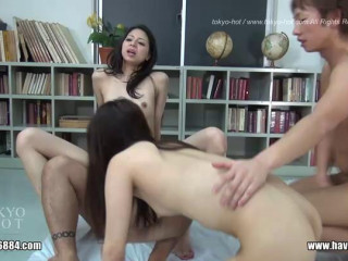 Tokyo-Hot - Sex Desire Lesson - Karina Mikami, Junko Igarashi