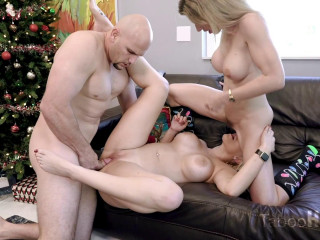 Cory Pursue And Vanessa Cell - Christmas Free-for-all Use