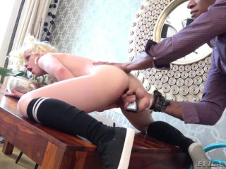 Anna: Anal-Gaping Interracial Squirter