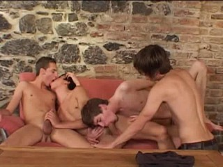 Raw Orgy With Young Sluts