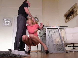 Student Spanked Into Submission