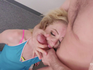 Gets Her Face Fucked As Well As Her Ass For Bang! - Full HD 1080p