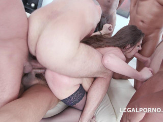 Used & Manhandled Gangbang For Ideal Cougar