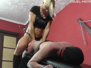 Mistress Zita - Giant Cock In His Ass