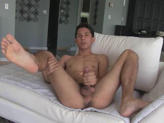 LatinBoyz Cute Twink with Uncut Mexican Cock Ramiro
