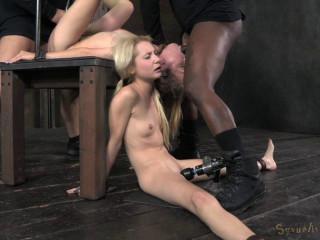 2 blond pixies Odette Delacroix and Emma Haize 2014