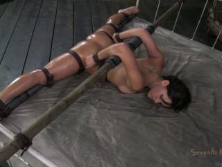 Sofia Delgado's First Bondage Shoot Anywhere! - HD 720p