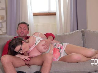 Tasha Holz - The Secret Enjoy Nest - Busty Assistant Smashed Hardcore FullHD 1080p