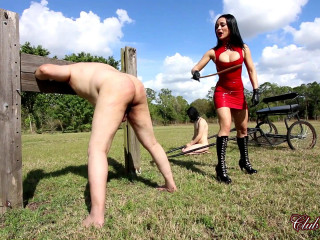 Cruelly Caned by Crystal Rush