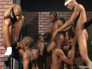 Black Thugs Cocks Orgy