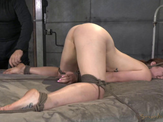 All natural redheaded girl in Bdsm Action