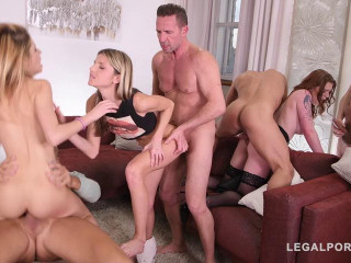 Sex Teacher Carly Rae shows Gina Gerson Rebecca Volpetti
