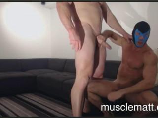 Musclematt - Matt & Brad Underground Sequence 1