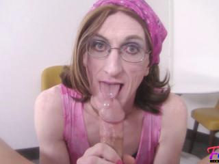 Michelle Hard Working Crossdresser Can'T Resist Your Dick (2018)