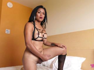 Emperatriz Rides Her Dildo & Cums