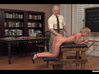 Across the Spanking Bench - Miss William - Full HD 1080p