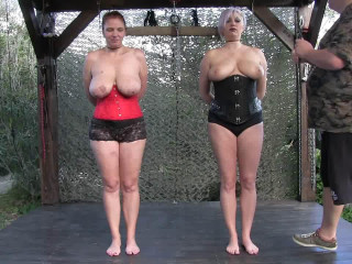 New Hard Outdoor Tit Adventure for Bettine and Nova Pink - Part 1