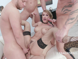 Soaking Gangbang Party With Double Anal For Elen Million