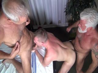 man's Bareback Massage Scene 4 - Allen Silver, Jake Marshall & Billy Warren