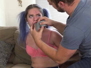 Annoying Little gf Taped