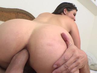 Busty Latina Gaping Anal Nympho