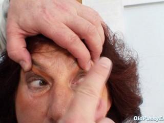 Linda (56 years doll gynecology exam)