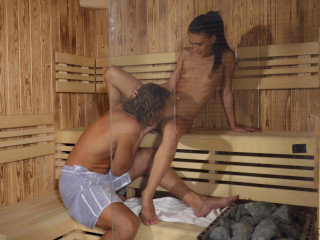 Big Cock Fuck In Steamy Sauna