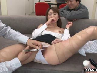 Melia Rika - Office lady is fucked by her superiors (2018)