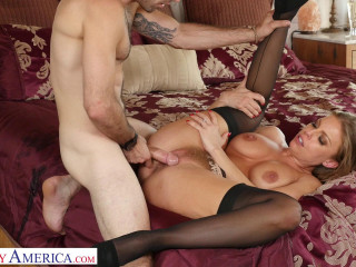 Britney Amber - Fucks neighbor while hubby is out (2019)