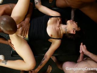 Vanessa Vega - Gang-bang Creampie 1080p