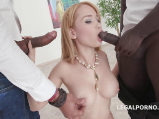 Doubleanalized Natasha Teen Gets 2 BBC Balls Deep with DAP, GAPES, Creampie  Swallow GIO860