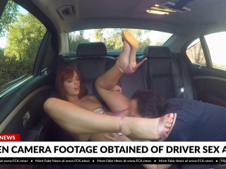 Scarlett Mae Fucks Her Rideshare Driver And Its Caught On A Hidden Camera 1080p