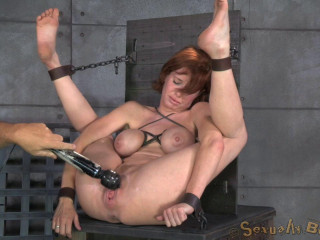 Veronica Avluv trussed and banged tough and hard