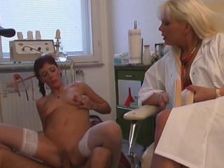 In nurses' wet holes