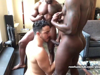 Raw Fuck Club - Max Konnor and Avatar Akyia tag-team Alessio Vega