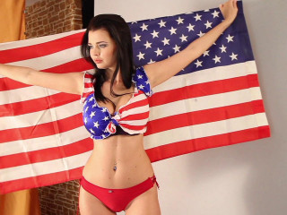 Sha Rizel - Star Spangled Boobs 1