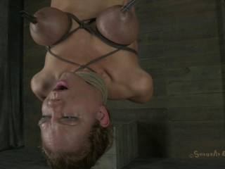 Inverted hell, hot blond with massive tits